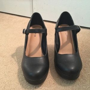 torrid Shoes - New Torrid Ankle Strap Mary Jane Heels Black 8.5 W